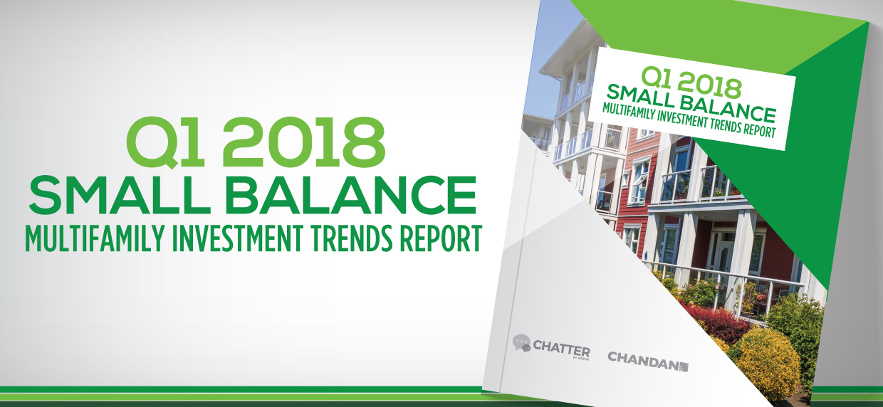 Infographic Q1 2018 Small Balance Multifamily Investment Trends Report