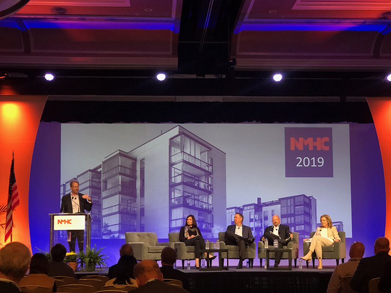 Panelists at 2019 NHMC Strategies Outlook Conference in San Diego