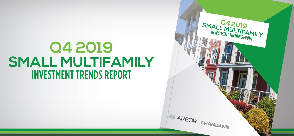 q4 2019 small multifamily investment trends report apartment cap rate