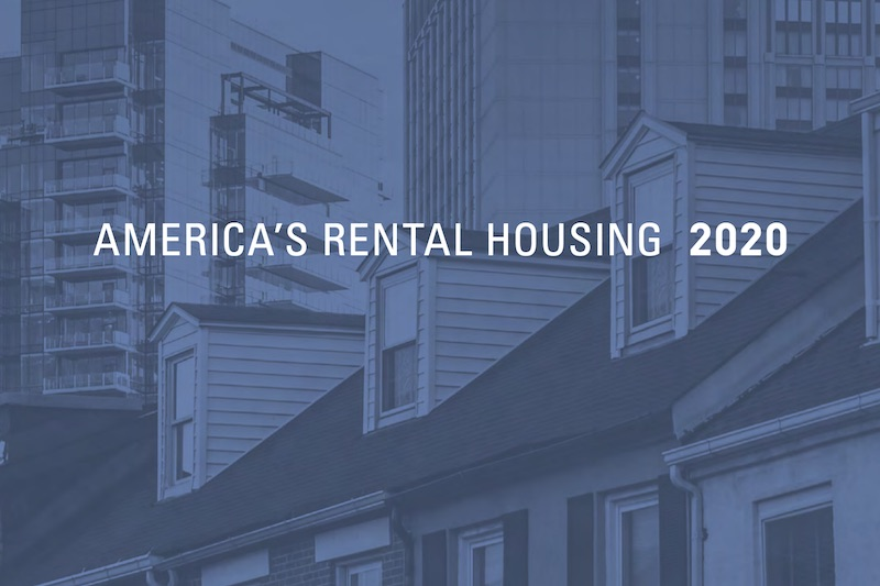 Harvard Rental Report 2020 Focuses on Affordable Housing